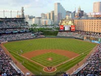 Oriole Park at Camden Yards title
