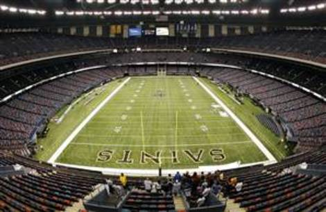 Stadium arena seating reviews photos for Mercedes benz superdome 3d seating chart